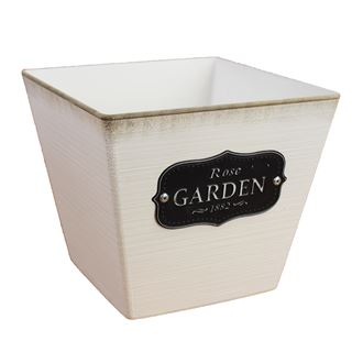 Plastic flower pot GARDEN X0749
