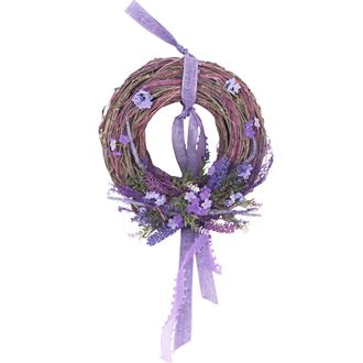 Wreath with ribbon P1108
