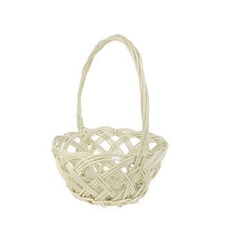 Basket for arranging with handle, white 0511008-01
