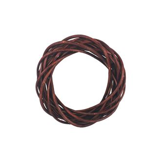 Brown wreath d. 25 cm P0372-17