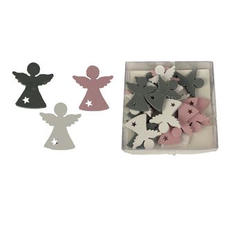 Decorative angels, 18pcs D2364