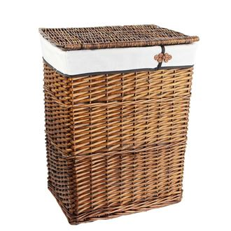 Laundry basket, brown P1362