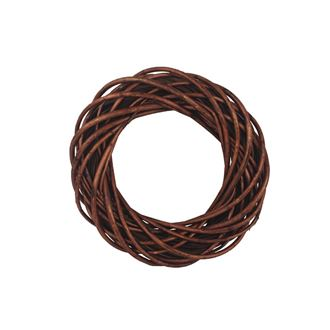 Brown wreath d. 30 cm P0373-17
