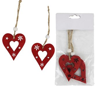 Red Heart  2 pcs