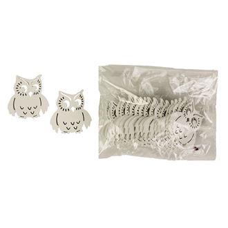Decorative owls, 20pcs D1408