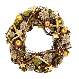 Christmas wreath large P0617/2