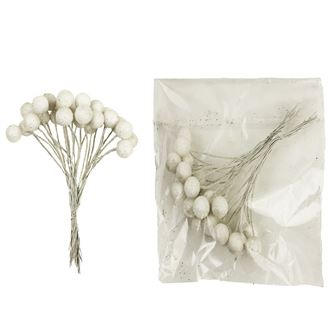 Decorations white, 2pcs/pack. X1140