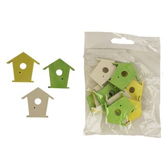 Birdhouse 12 pcs. D1500