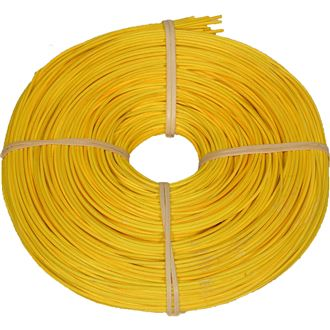 rattan core yellow 2,25mm coil 0,25kg