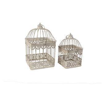 Square cage, set of 2 K1909