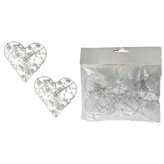 Decorative heart 3 pcs X3078-01