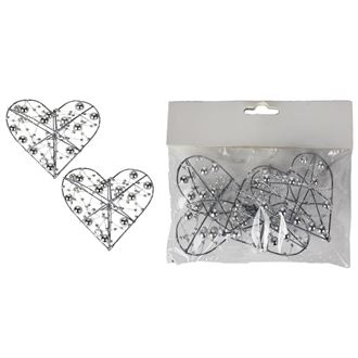Decorative heart 3 pcs X3078-28