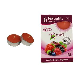 Tealight BERRIES 6 Pcs.