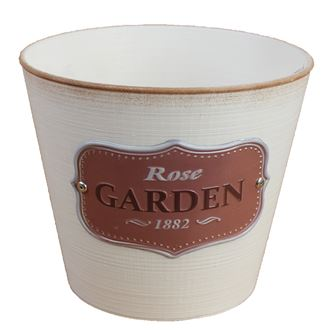 Plastic flower pot GARDEN X0728