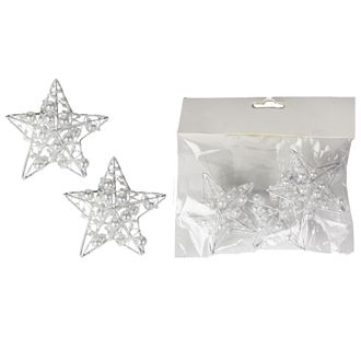 Decorative star 3 pcs X3079-01