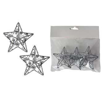 Decorative star 3 pcs X3079-28