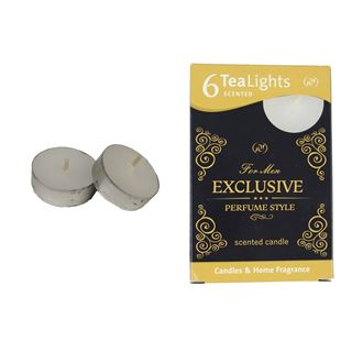 Tealight EXCLUSIVE FOR MEN 6 Pcs.