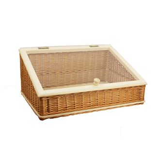 Sloping Display Basket with plexiglass 70243