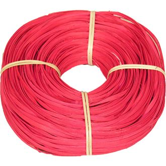 rattan core flat-oval red 5/6mm coil 0,25kg 50S0517-08