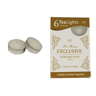 Tealight EXCLUSIVE FOR WOMEN 6 pcs.