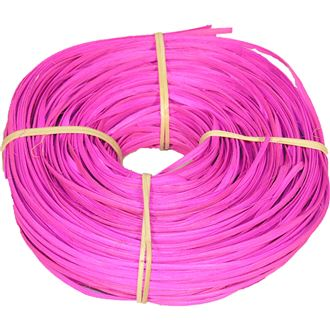 rattan core flat-oval bright pink 5/6mm coil 0,25kg 50S0517-06