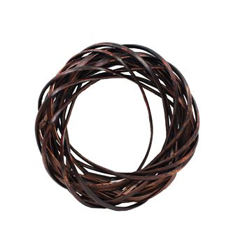 Brown wreath d.20cm P0406-17