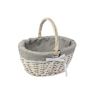 Basket with fabric P1167/V