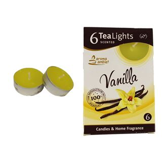 Tealight VANILLA 6 Pcs.