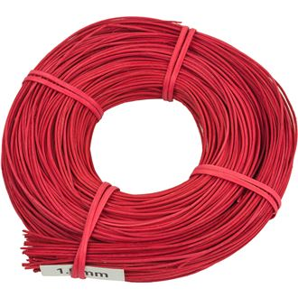 Rattan core red 1,5 mm 0,10 kg 5001520-08