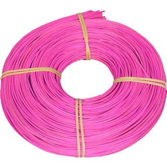 rattan core bright pink 2mm coil 0,25kg 5002017-06