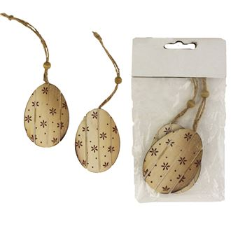 Eggs for hanging 2 Pcs D1418