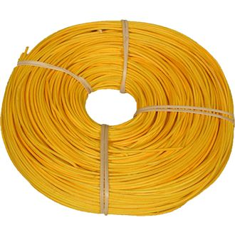 rattan core yellow-orange 2,25mm coil 0,25kg