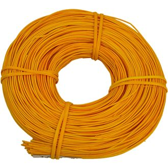 rattan core yellow-orange 1,5mm coil 0,10kg 5001520-03