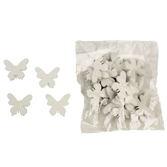 Decorative butterflies, 30pcs D0780