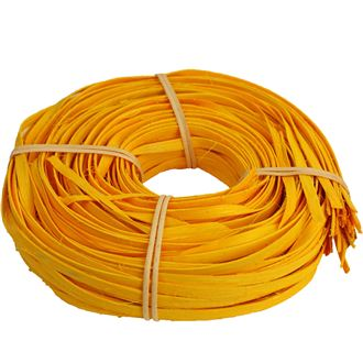 rattan core flat-flat yellow 10mm coil 0,25kg 50B1017-02
