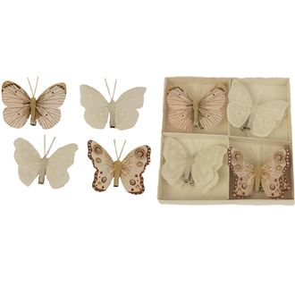 Butterfly decoration, 8pcs