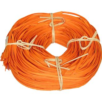 rattan core flat-oval orange coil 0,25kg 50S0517-04