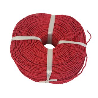 Paper string red 2,5-3mm coil 0,50kg 5327000-08