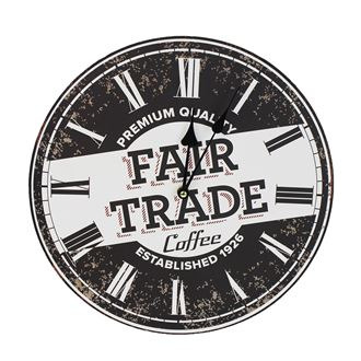 Clock dia.34 cm - FAIR TRADE 355185